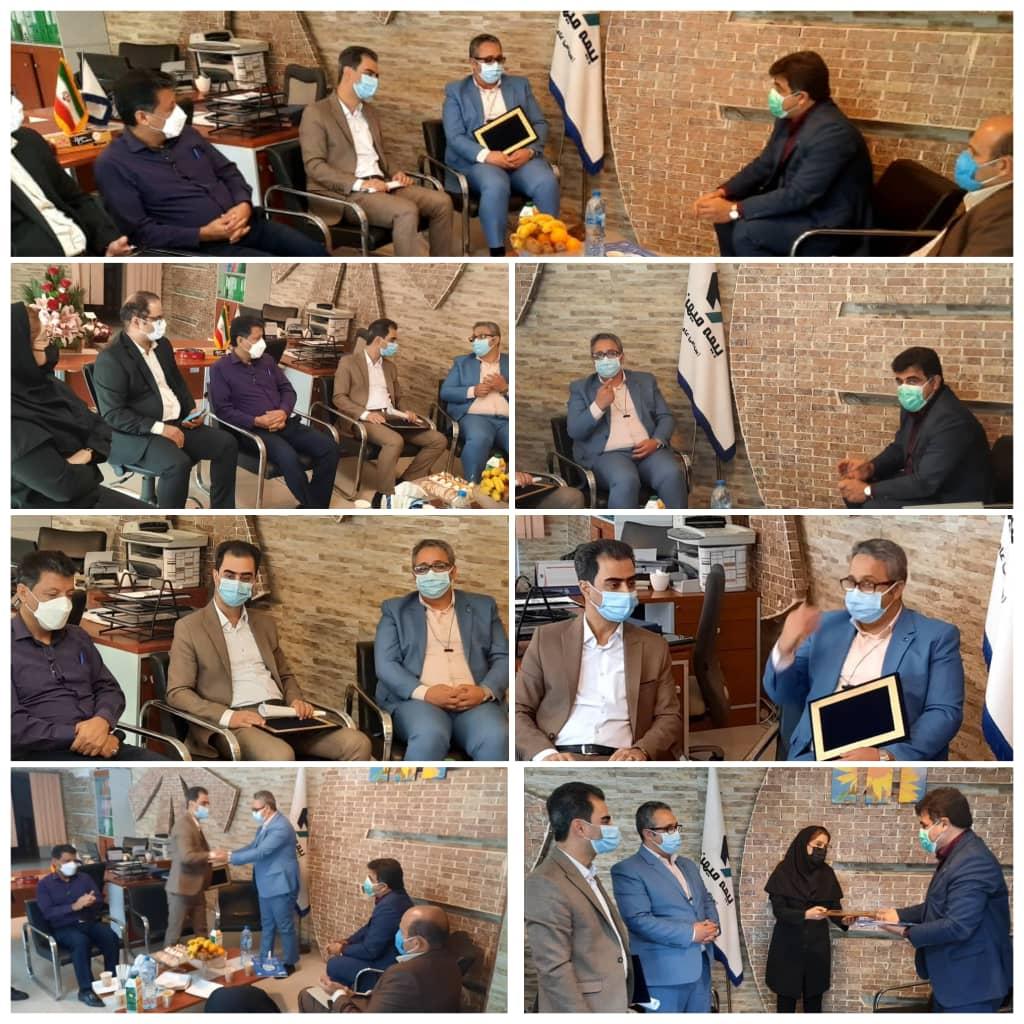 معرفی سرپرستی جدید شعبه خوزستان