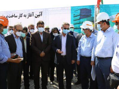 با حضور مدیر کل محیط زیست استان خوزستان و رئیس محیط زیست شرکت ملی صنایع پتروشیمی؛