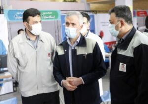آغاز واکسیناسیون عمومی کووید ۱۹ (کرونا) در ذوب آهن اصفهان