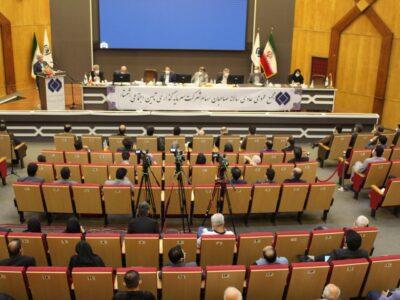گزارش تصویری مجمع سالانه شستا-بخش ۱- شستا نماد شفافیت و رویش