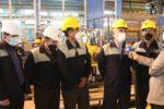 رکورد تولید ورق سازه های فولاد در ذوب آهن اصفهان شکسته شد